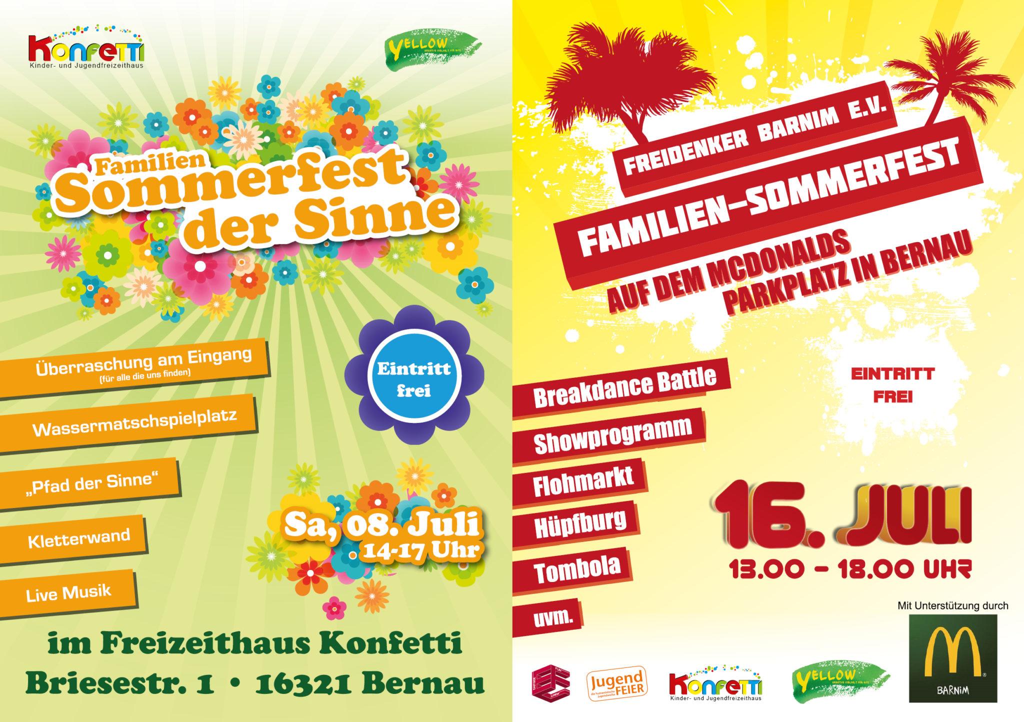 Sommerfest im Doppelpack
