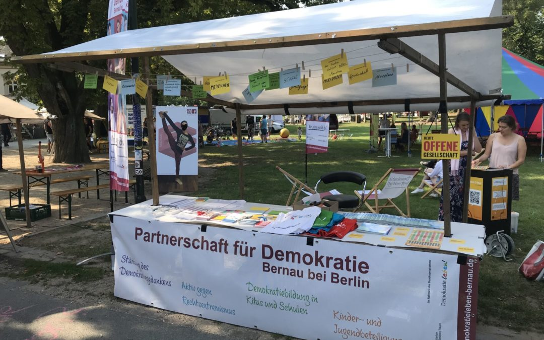 Mitarbeiter_in für Koordinierungs- und Fachstelle der Partnerschaft für Demokratie Bernau